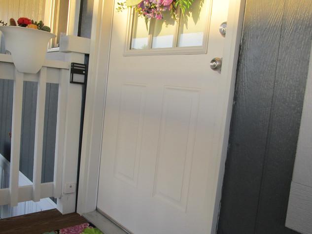 Spring at CVC doorway.JPG