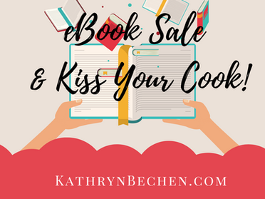 Kiss Your Cook & eBook Sale!