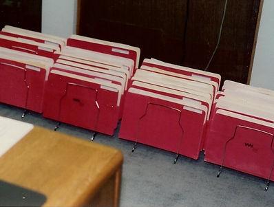 Kathryn Bechen Red Folders