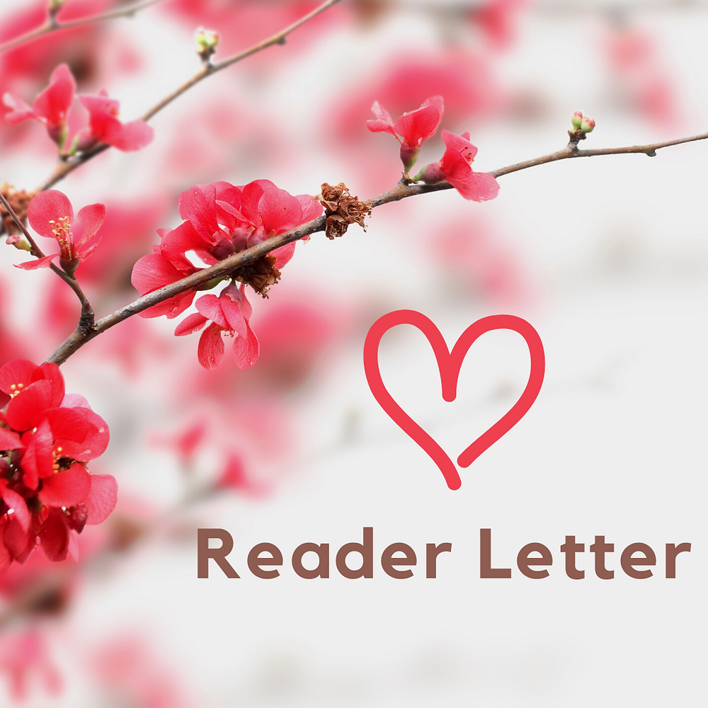 Reader Letter Kathryn Bechen