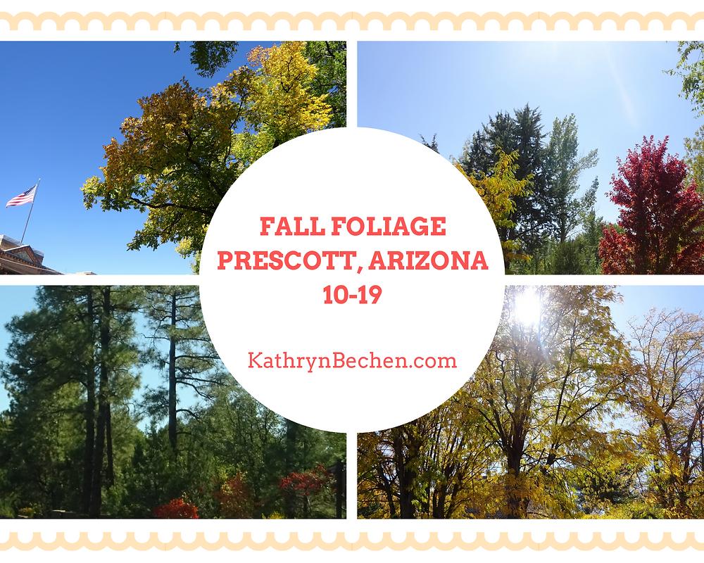 Prescott Arizona in the fall
