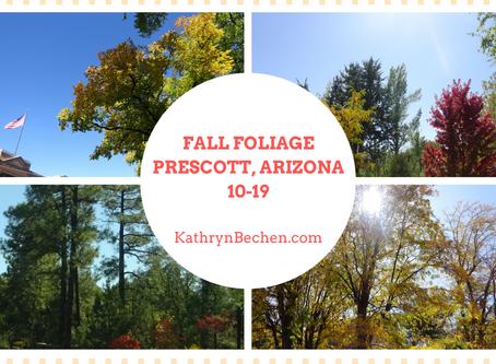 Fall Foliage in Arizona & My Easy Salmon Pate