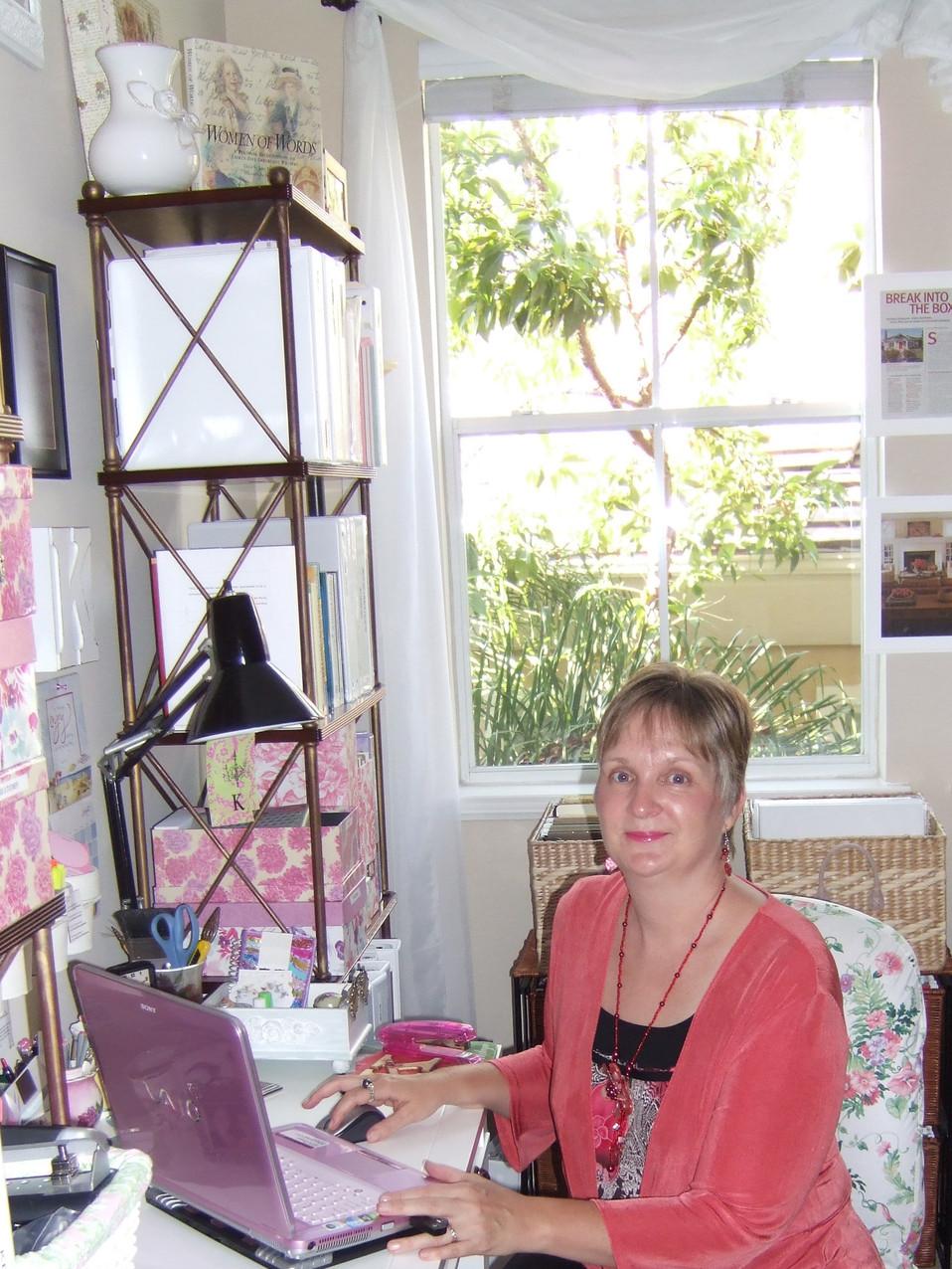 Kathryn Bechen at work SD