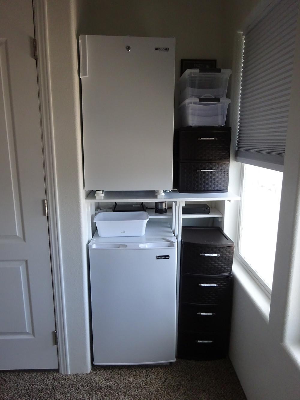 Steve Bechen freezer installation