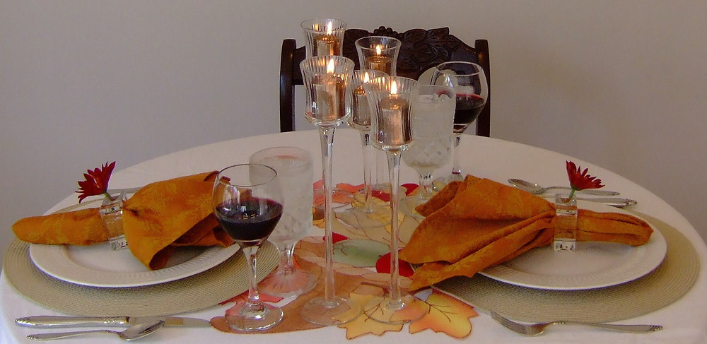 Kathryn Bechen Thanksgiving Tablesetting