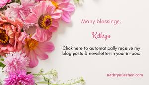 Kathryn Bechen Newsletter Sign-Up