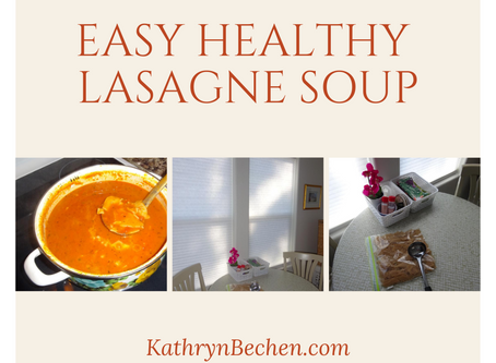 Love Lasagne Soup for Fall!