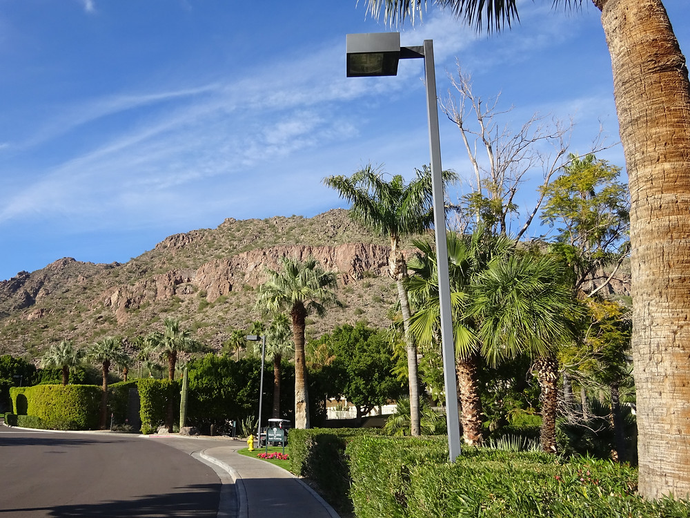 The Phoenician Resort Scottsdale, AZ taken by Kathryn Bechen