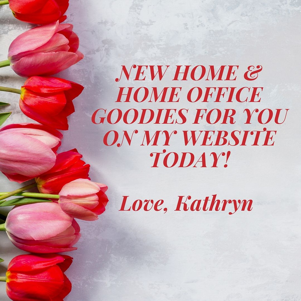 New home & home office goodies for you!