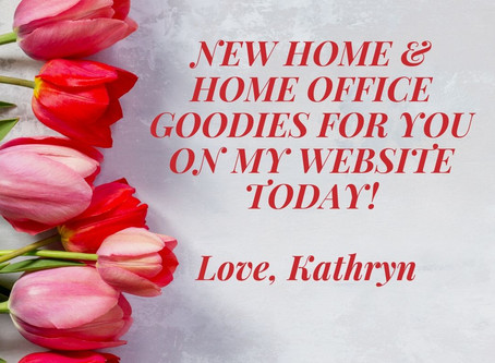 New Home & Home Office Goodies for You Today!