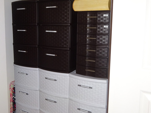 Kathryn Bechen clothes closet storage 1-