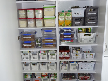 Baskets  & Bins for Pantry Organizing
