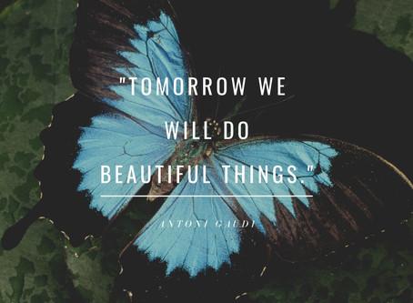 Tomorrow We Will Do Beautiful Things