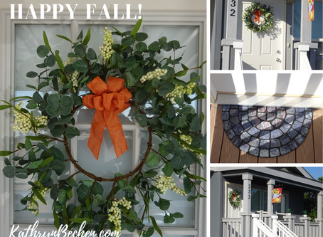 Easy Fall Stew & Simple Fall Decorating