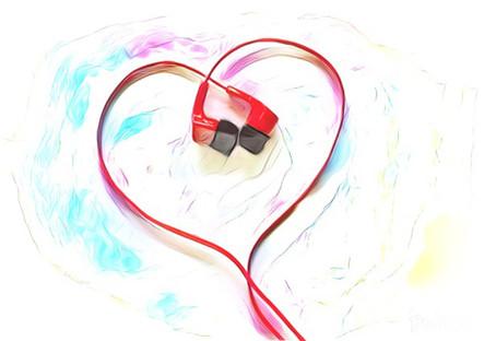 Headphones Heart