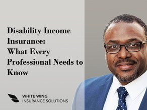 Disability Income Insurance: What Every Professional Needs to Know By Richard D. McFalls