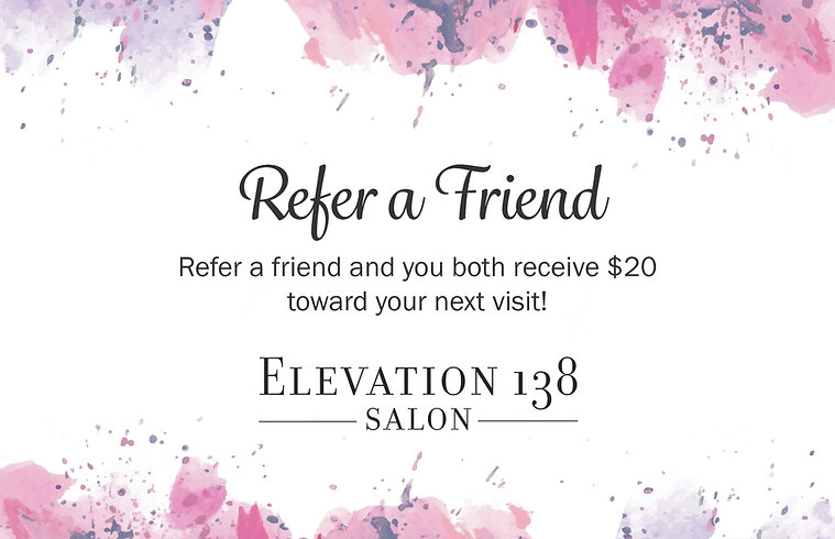 Refer a Friend to receive $20 off