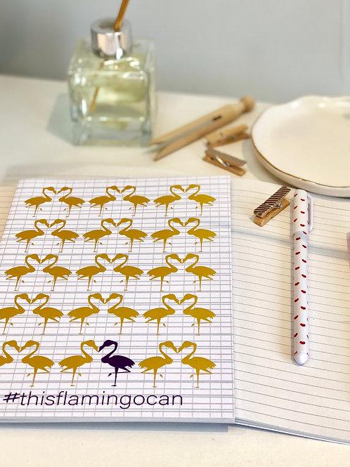 A5 Notebook - #thisflamingocan