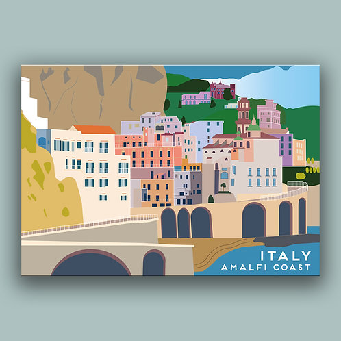 Amalfi Italy Landmark  Poster