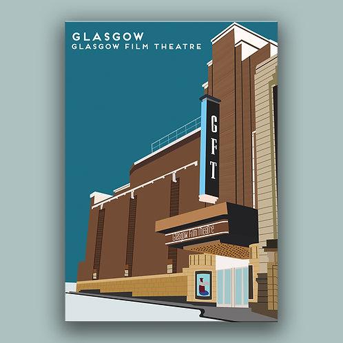 Glasgow  Landmark  Poster