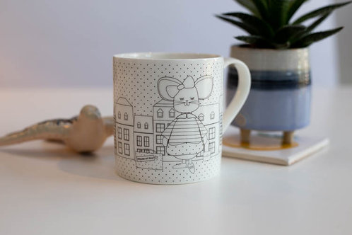 Luxembourg Mouse & Melusina Tea Cup
