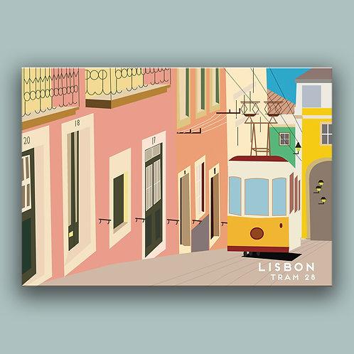 Lisbon Landmark  Poster