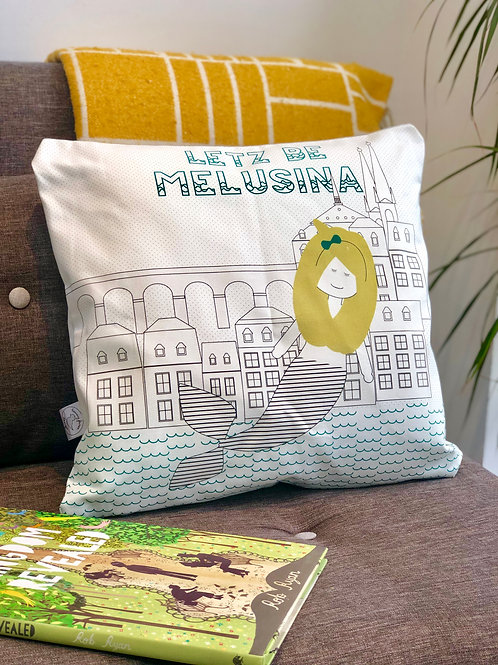 Melusina Luxembourg Cushion
