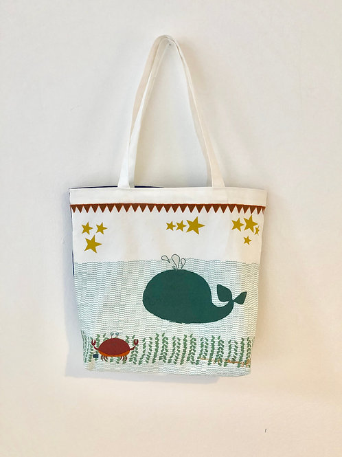 Under the Sea Totebag double-sided design
