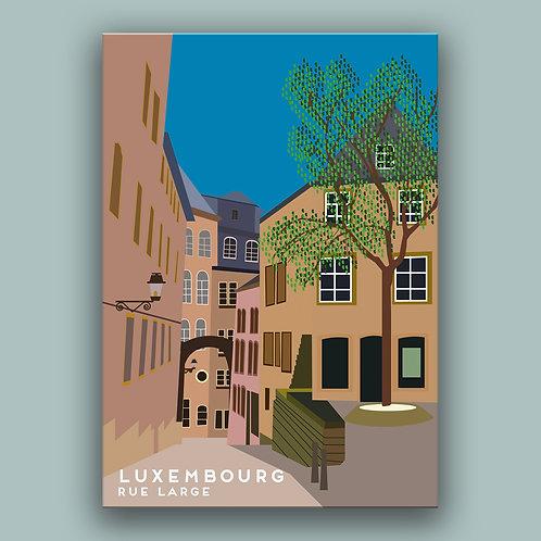 Bespoke Landmark Illustration Poster