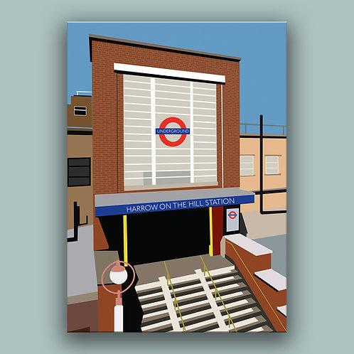 London - Harrow on the Hill Landmark  Poster