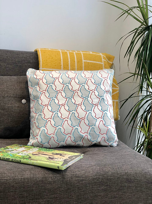 Maps Luxembourg Cushion