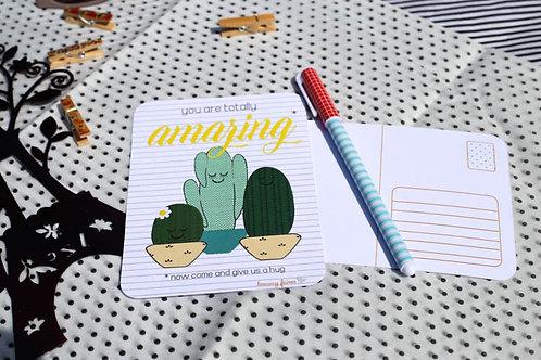 Cacti Postcard