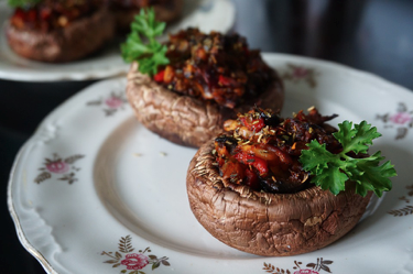 AMAZING STUFFED MUSHROOMS