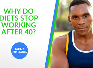 WHY DO DIETS STOP WORKING AFTER 40?