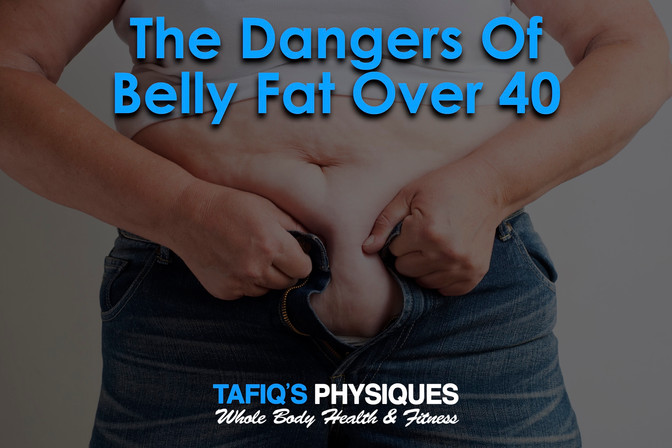 The Dangers Of Belly Fat After 40