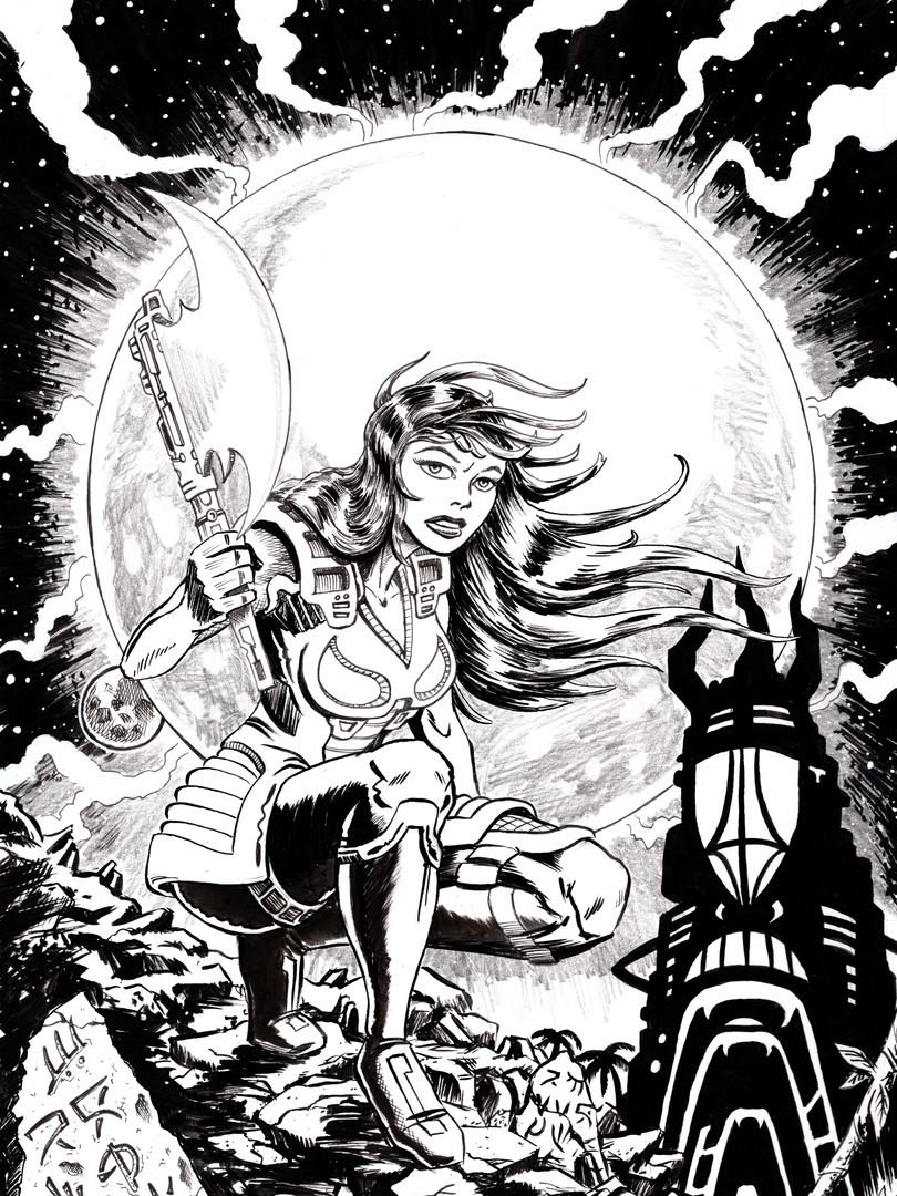 Zira Issue 01 Cover Inks