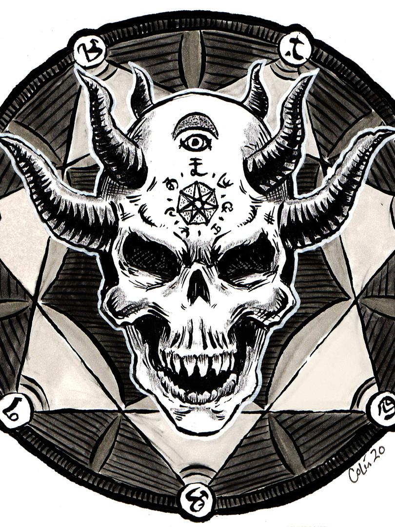 Cult of the Green Skull Symbol