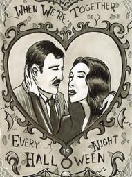 Addams Family Valentine