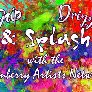 Drip Drizzle Splash postcard
