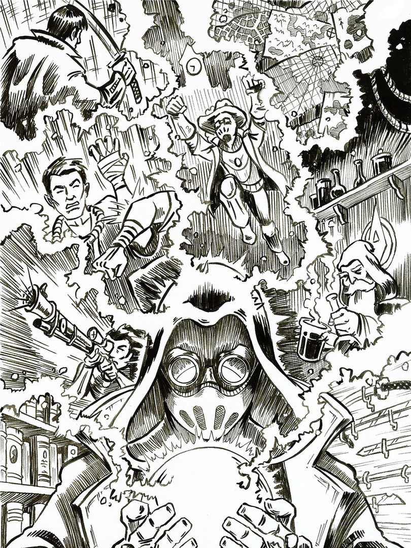 Fringe Knight - Issue 2 - Cover