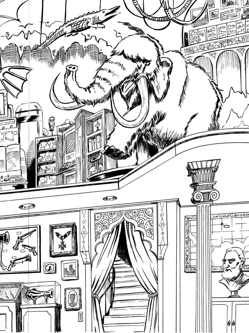 Fringe Knight - Issue 1- Interior