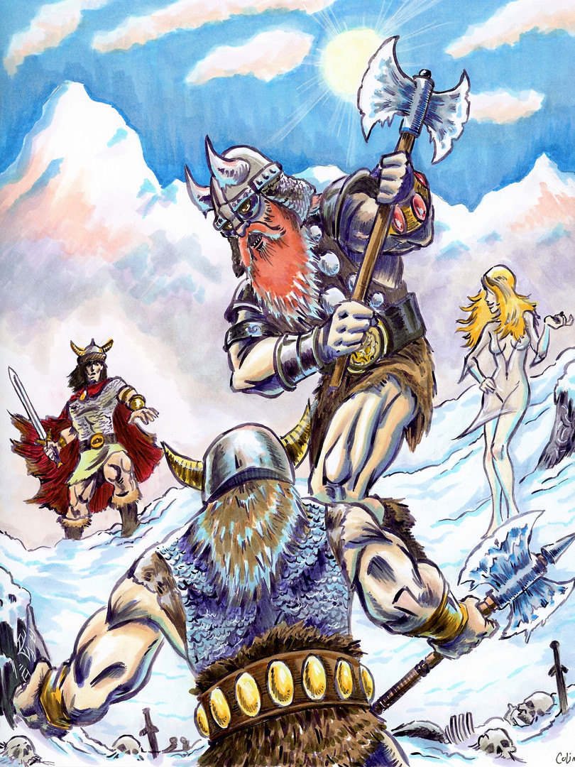 Frost Giant's Daughter