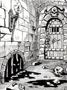 Deadly Dungeon Corridor