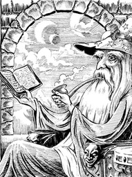 Smoking Wizard