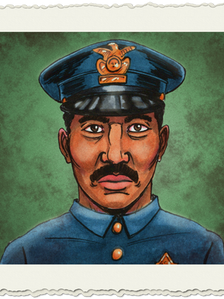 Pulp Investigator Policeman