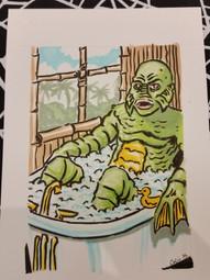 Creature in Bath