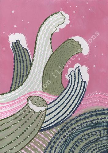 Waves - Print