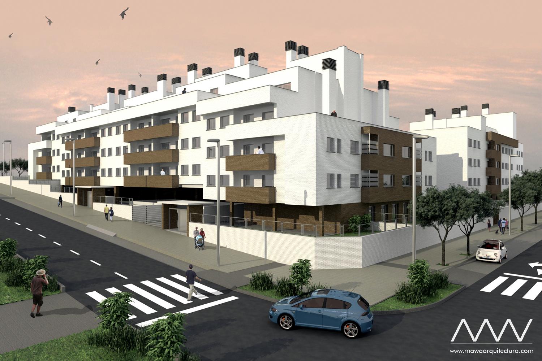 MAWA Proyecto Viviendas en Valdemoro