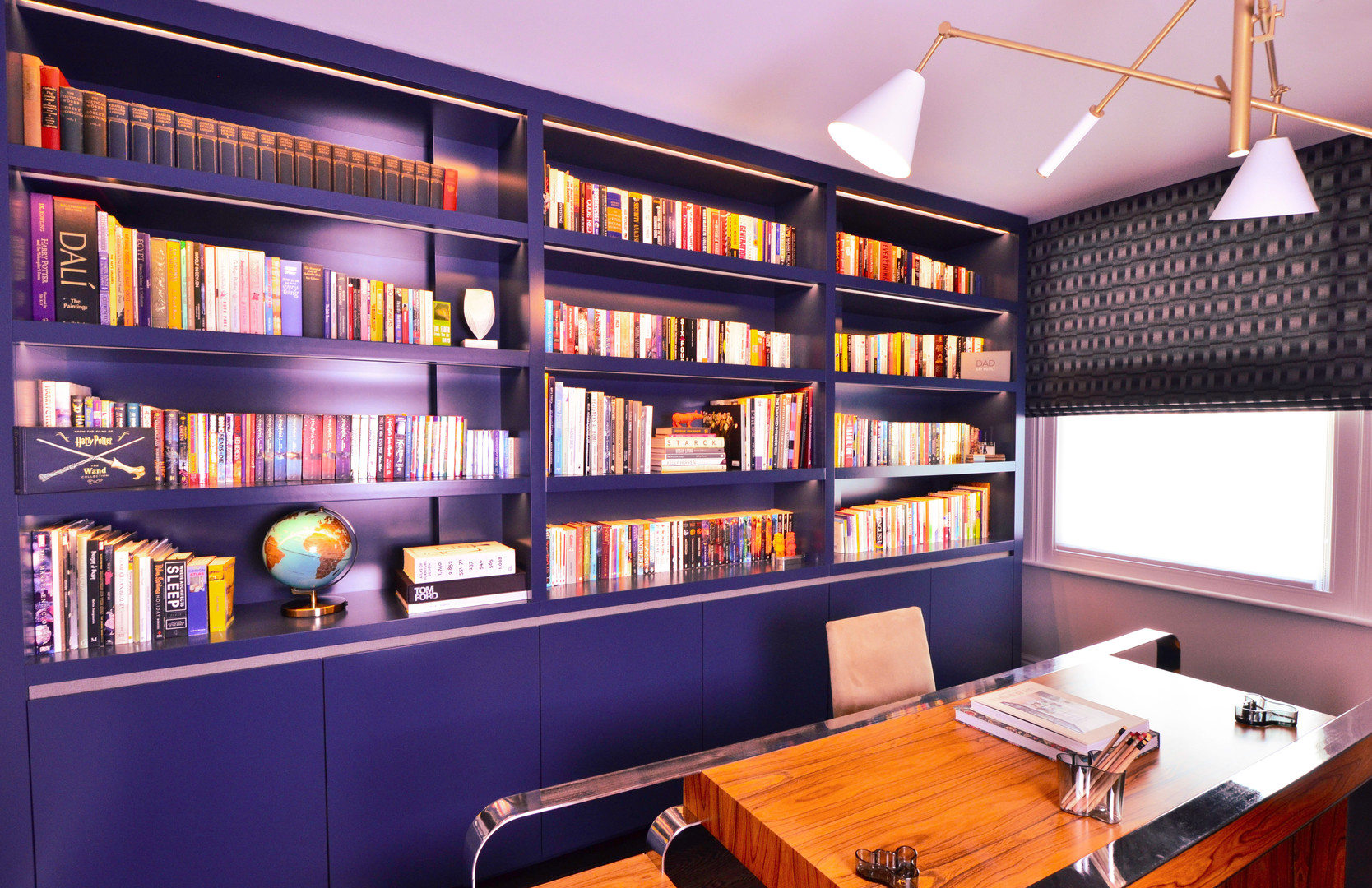 Home office - bookshelves