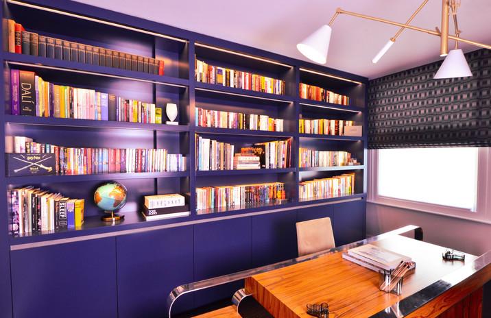 Home office - bookshelves